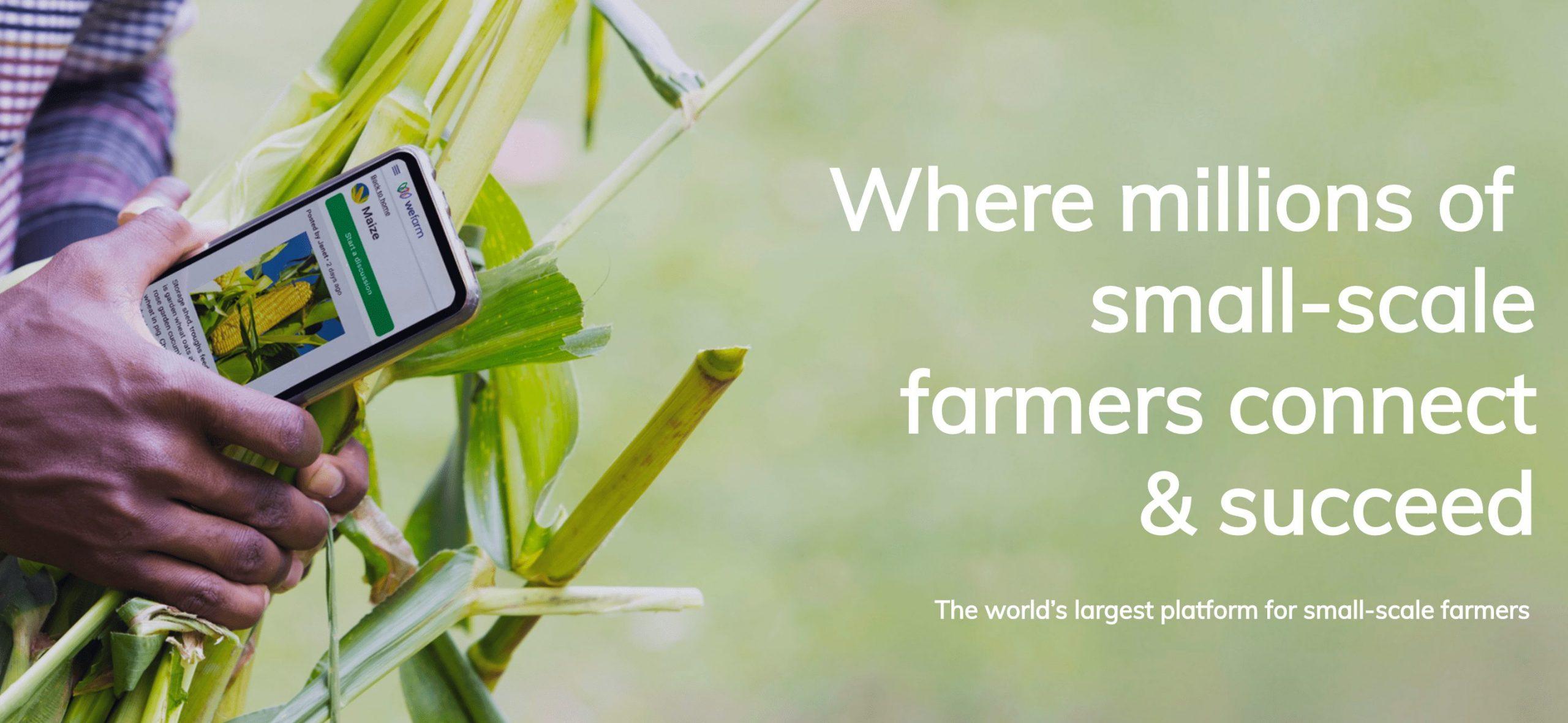 250万ユーザーの農家向けSNS WEFARM